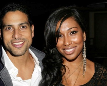 Adam Rodriguez and Melanie Fiona