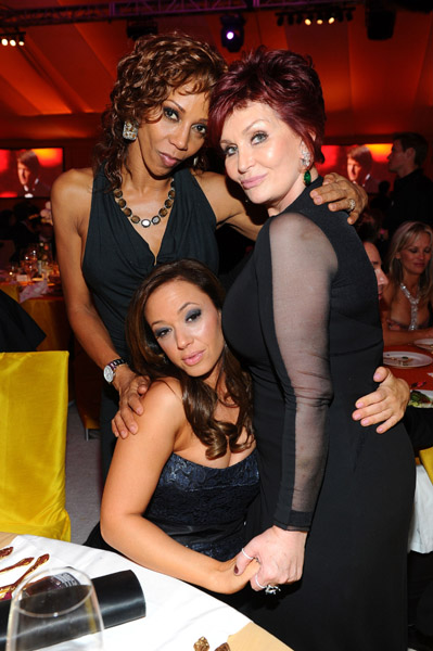 Holly Robinson Peete Leah Remini Sharon Osbourne
