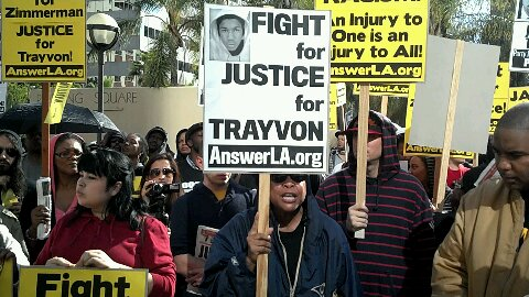 Trayvon Martin Rally and March plus photos before the date 088