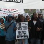 Trayvon Martin Rally and March plus photos before the date 160