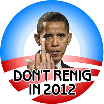 don't renig