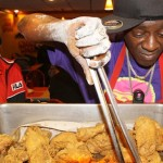 Flavor Flav and His Chicken Debut in Las Vegas