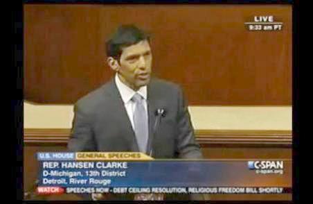 congressman hansen clarke