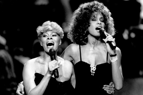 dionne warwick & whitney houston