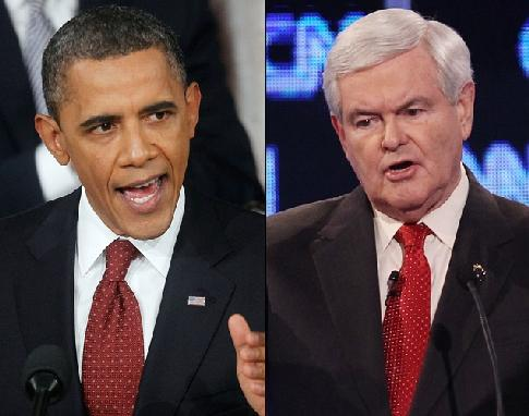 obama & newt