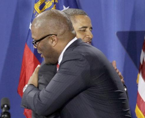 obama & tyler perry