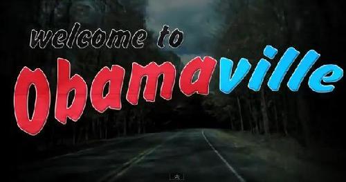 santorum's obamaville ad