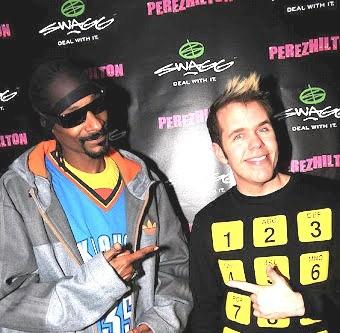 Snoop Dogg and Perez Hilton