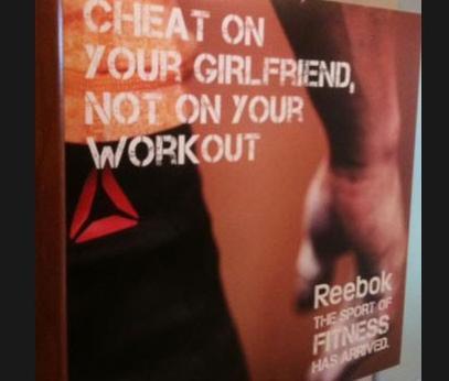 reebok cheat on girlfriend ad