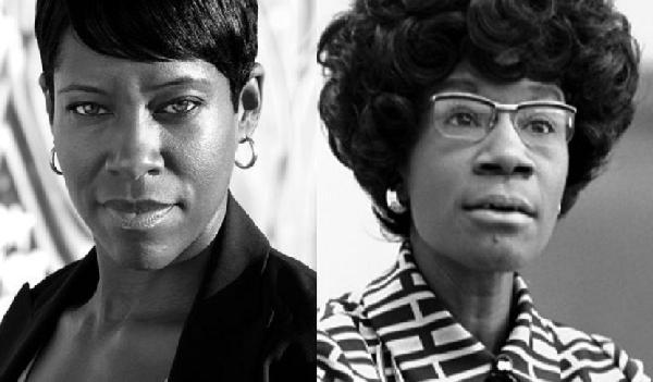regina king & shirley chisholm