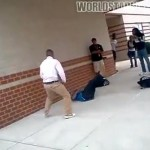 Baltimore Suburban School Fight Goes Viral as Parent Fights Student (Video)