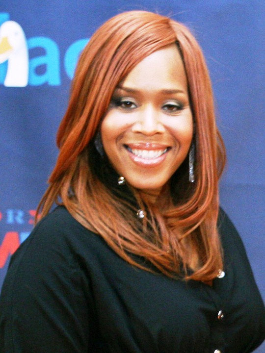 Singer Tina Campbell of Mary Mary is 40 today