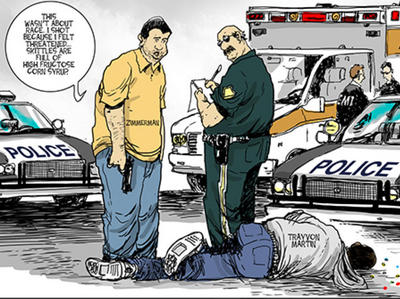 trayvon cartoon