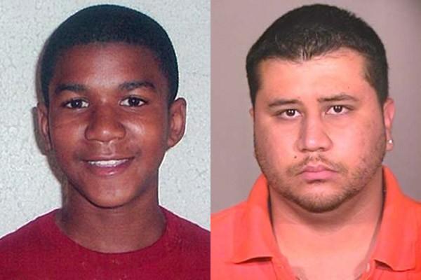 trayvon martin & george zimmerman