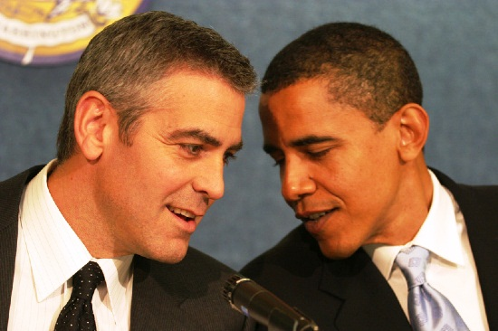 Clooney-and-Obama