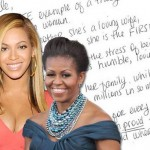 Beyonce Thanks Michelle Obama Via Hand Written Letter