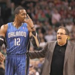 Watch Awkward, Tense Scene Between Orlando Coach & Dwight Howard (Video)