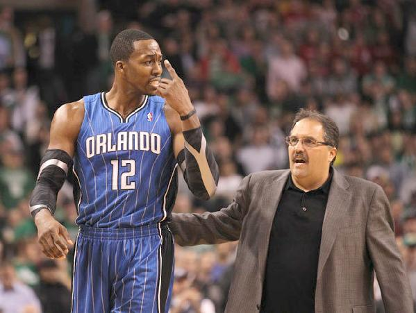 dwight howard & stan van gundy