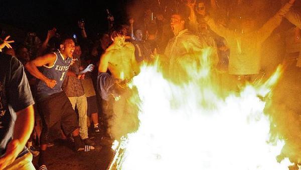 kentucky student riot