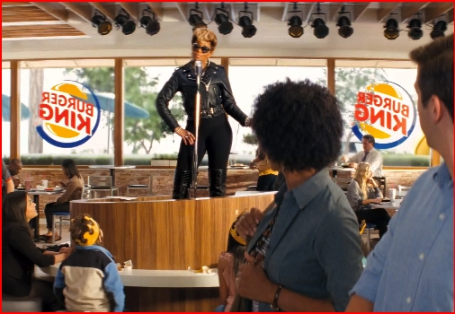 mary j blige (burger king ad)