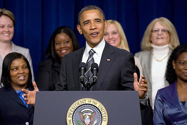 obama & women
