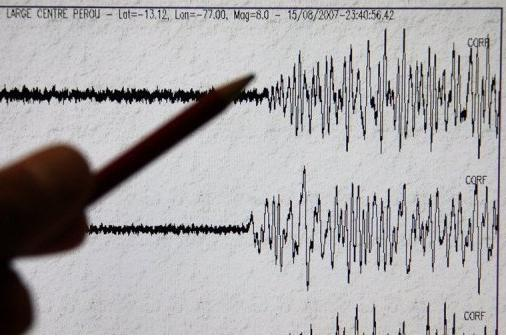 seismograph (indonesia earthquake)