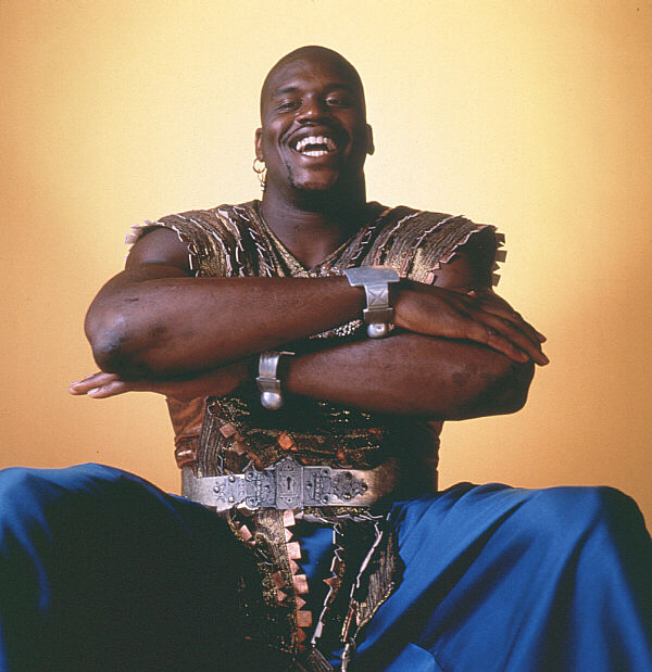 shaq as kazaam