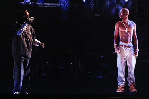 snoop & tupac hologram