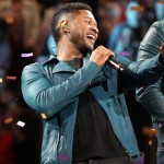 Usher Debuts New Music in Stage Play
