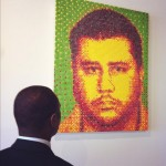 Photo: George Zimmerman Mugshot Recreated with Skittles