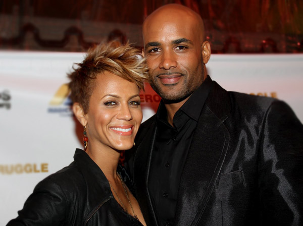Boris Kodjoe and wife Nicole Ari Parker