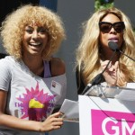 Wendy Williams and Keri Hilson Walk for HIV/AIDS Awareness