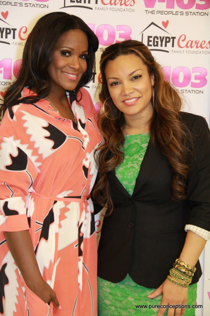 Tameka Foster and Egypt Sherrod