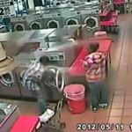Dad Puts Toddler in Laundromat Washing Machine? (Video)
