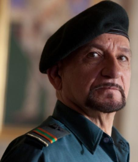 ben kingsley (in 'the dictator')