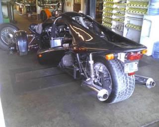 ben wallace's t-rex motocycle
