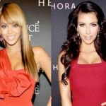 Beyoncé and Kim Kardashian Share a Bonding Moment in Atlantic City