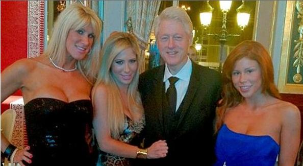bill clinton & porn babes