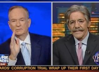 bill oreilly & geraldo rivera