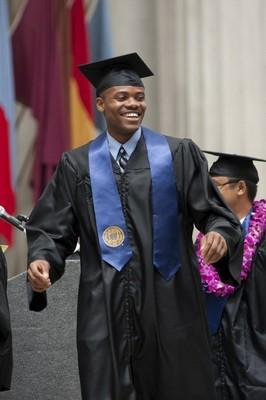 black male graduate