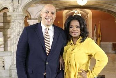 cory booker oprah winfrey