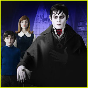 Johnny Depp in the Warner Bros' film Dark Shadows