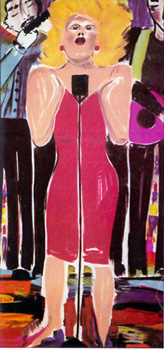 donna summer art (hard for the money)