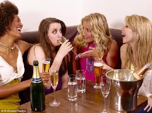 drinking women