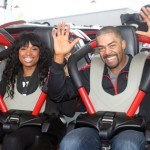 J-Hud, Fiance Unwind at Six Flags after Emotional Trial