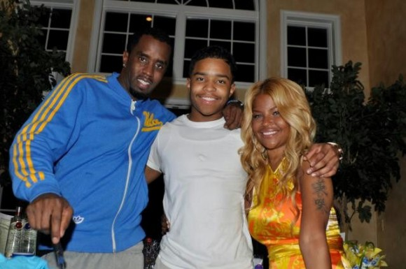 Diddy (father), Justin, Mysa (mother)