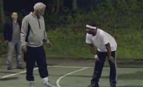 kyrie irving (as uncle drew)