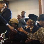 Black Church Goers Challenged to Choose Between Pastor and President