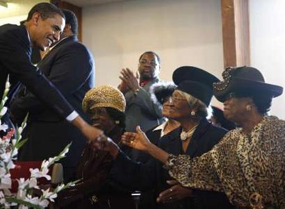obama and church folk