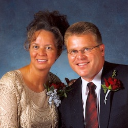 Pastor Jeff Sangl and wife